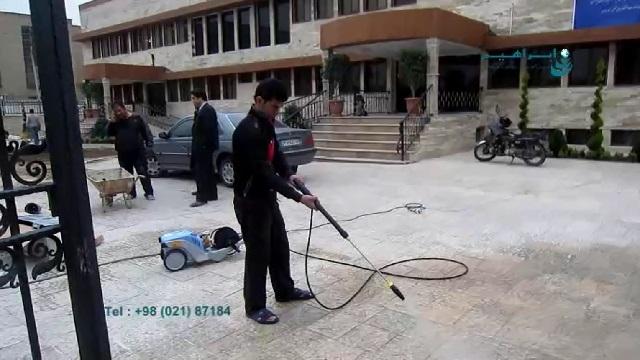 مزایای شستشوی سطوح کف با واترجت صنعتی  - Advantages of cleaning the floor by pressure washer