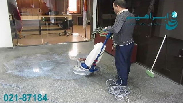 پولیشر دستگاهی ایده آل برای جلادهی سطوح کف   - Polisher is an ideal device for flooring