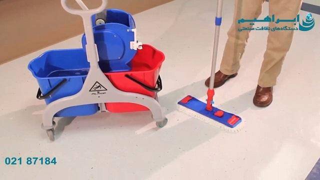 نحوه استفاده از ترولی نظافتی   - How to use cleaning trolley