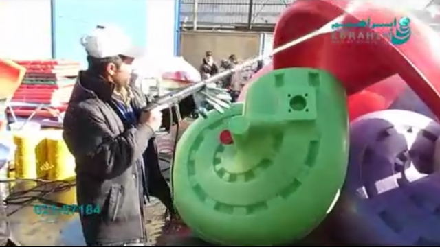 واترجت صنعتی مناسب شستشوی وسایل تفریحی  - pressure washer for Places of recreation