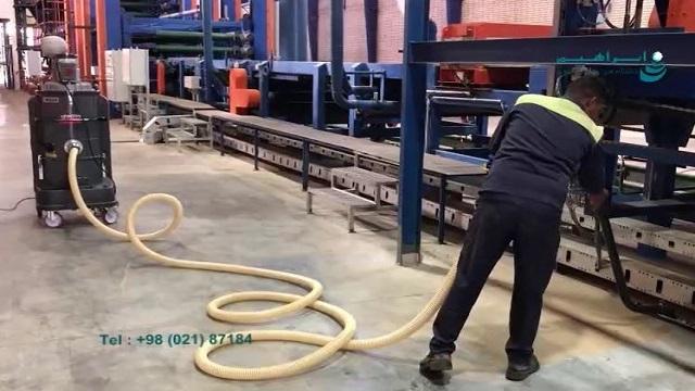 استفاده از جاروبرقی صنعتی مناسب در صنایع چوب  - Use of industrial vacuum cleaners suitable for wood industry