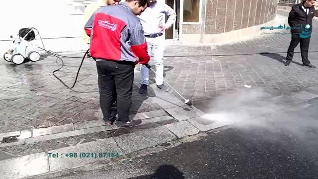 تاثیر دبی و فشار آب بر عملکرد واترجت صنعتی    - Effect of discharge and water pressure on industrial pressure washer