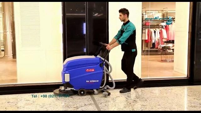 راهکار بهینه شستشوی سطوح کف مراکز تجاری چیست؟  - best way - floor cleaning