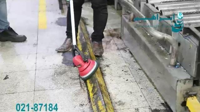 معرفی موتور اسکرابر و نحوه عملکرد آن  - motor scrubber - operating