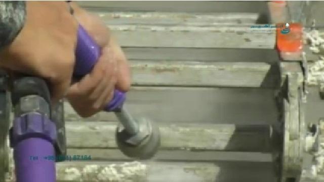 رسوب زدایی و رنگ بری با واترجت   - Destruction and Peeling by Pressure Washer