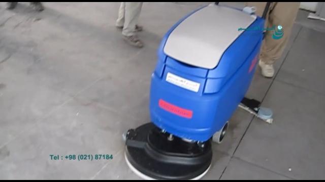 کاربرد اسکرابر صنعتی در ساختمان های نوساز  - scrubber dryer - new apartment