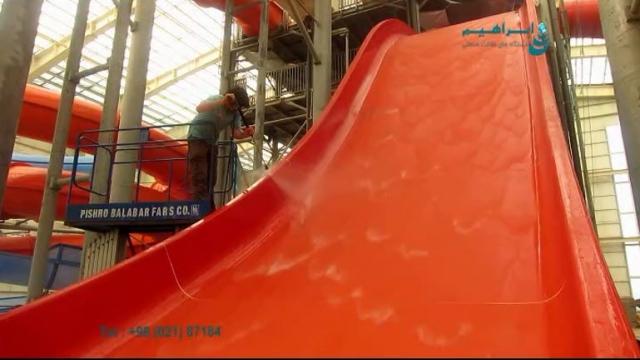 کاربرد واترجت در پارک های آبی  - pressure washer - water park
