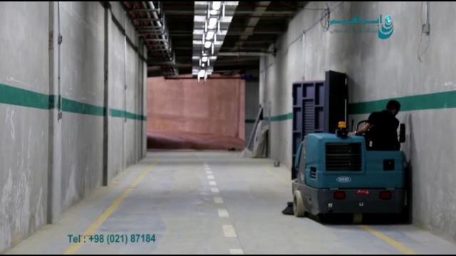 سوییپر سخت کار مخصوص نظافت مجتمع های تجاری بزرگ  - heavy duty sweeper - parking lot