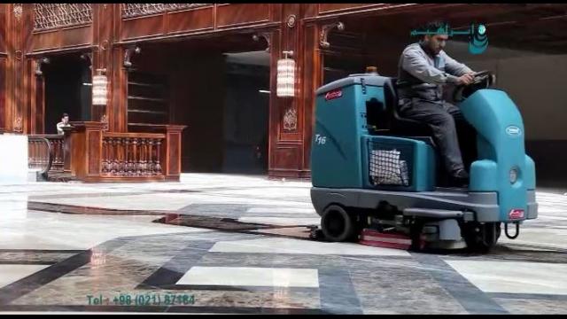 کف شور صنعتی سرنشین دار مناسب نظافت مراکز تجاری  - scrubber for commercial areas
