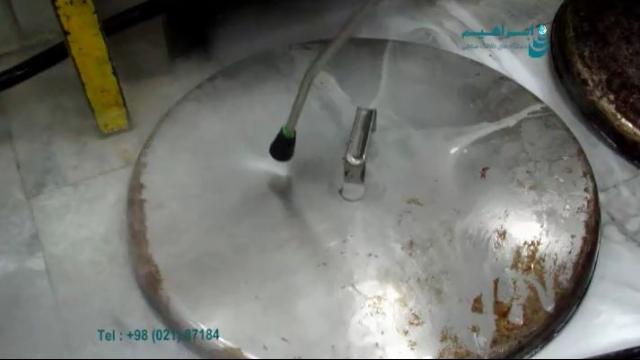 کاربرد واترجت در حذف آلودگی های تجهیزات آشپزخانه صنعتی  - remove dirt in industrial kitchen