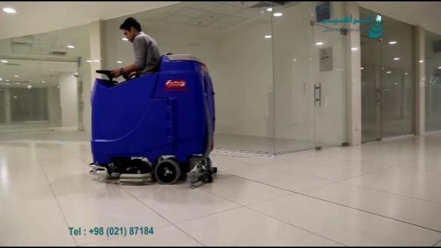 مشخصات دستگاه اسکرابر سرنشین دار  - ride-on scrubber dryer specification
