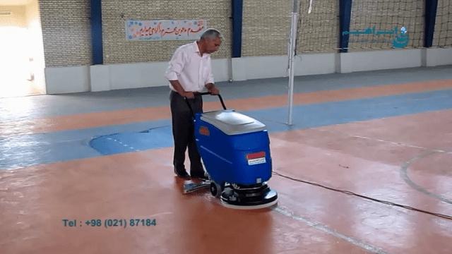 مشخصات اسکرابر دستی  -  everything about walk-behind scrubber