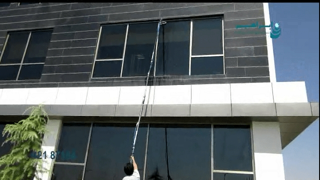 دستگاه نماشوی چیست؟  -  what is a facade cleaning machine