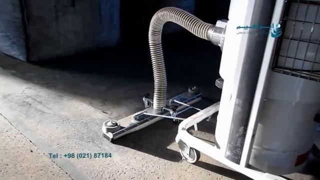 جاروبرقی صنعتی و نظافت سریع  - fast cleaning with industrial vacuum cleaner