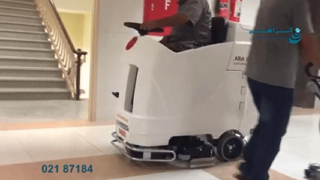 محیط های مناسب اسکرابر بیمارستانی   - suitable environments to use hospital scrubbers