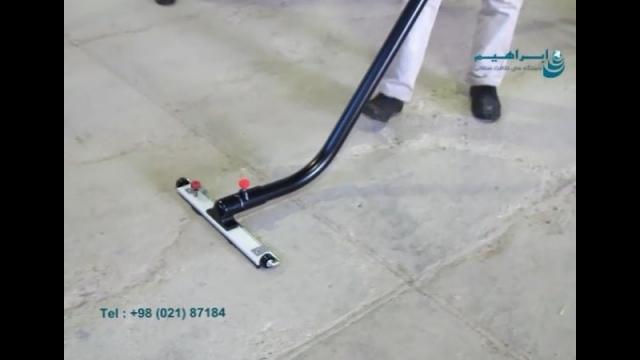 نظافت آسان انبار با جاروبرقی صنعتی  - Easy warehouse cleaning with industrial vacuum cleaner