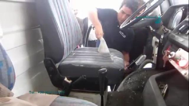 شستشوی صندلی با دستگاه مبل شوی  - Washing Sofa by Sofa Cleaner