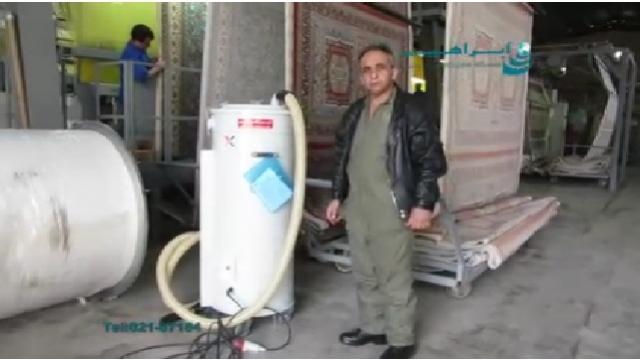 جاروبرقی صنعت نساجی  -  Textile Industry Vacuum Cleaner
