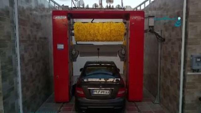 صرفه جویی در زمان با کارواش اتوماتیک  - Save time automatic carwash