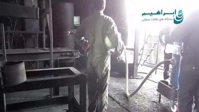مکنده کارخانجات صنعتی  - factory industrial vacuum cleaner