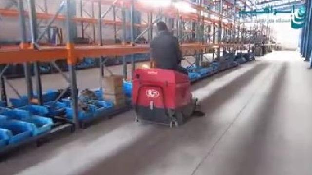 سوییپر سرنشین دار راه حلی بسیار کارآمد  - Sweeper highly efficient solution