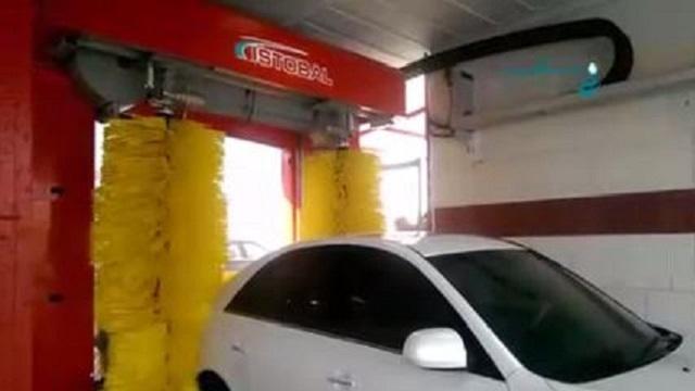 شستشوی سریعتر و با کیفیت تر خودرو با کارواش اتوماتیک  - Washing cars faster and higher-quality with automatic car washes