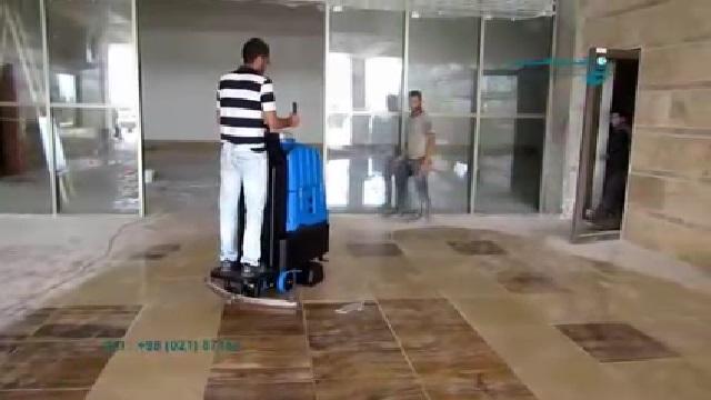 نظافت انواع سطوح با فرش شوی صنعتی  - Carpet Cleaner Variety Surface
