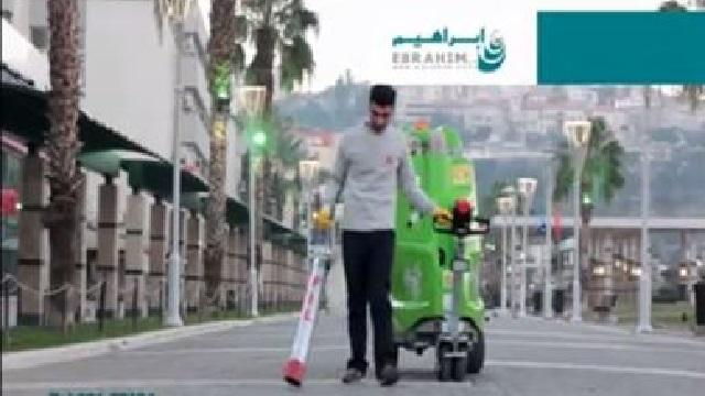 مکنده شهری برای نظافت آسان خیابان ها و پیاده رو ها  - Urban sucker easy cleaning streets sidewalks