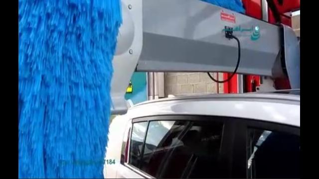 ویژگی برس پلی اتیلنی در دستگاه کارواش اتوماتیک  - Polyethylene brush automatic car washes