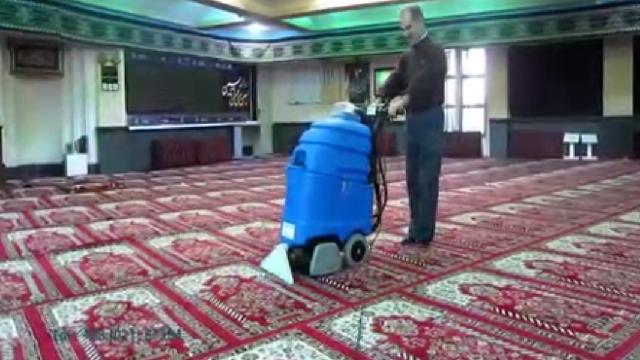 شستشوی آسان فرش با دستگاه فرش و موکت شوی  - easy carpet cleaning with carpet cleaner machine