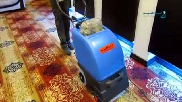 پاکیزگی و نظافت با استفاده از دستگاه فرش و موکت شوی  - Cleanliness using carpet cleaner
