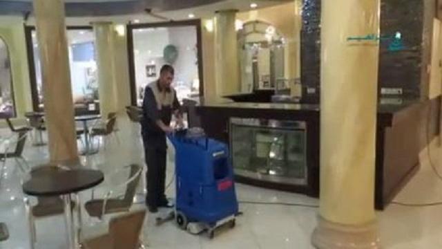 شستشوی سطوح هتل ها و رستوران ها با موکت شوی  - Wash surfaces hotels restaurants
