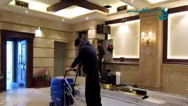 علل اهمیت استفاده از اسکرابر در نظافت ساختمان نوساز  - why use scrubber in cleaning new building