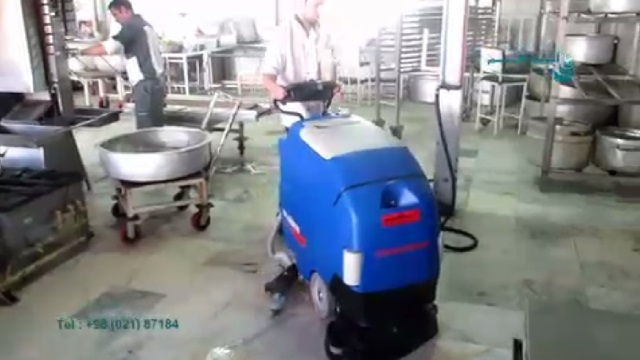 کفشوی آشپزخانه صنعتی  - scrubber dryer for Industrial Kitchen