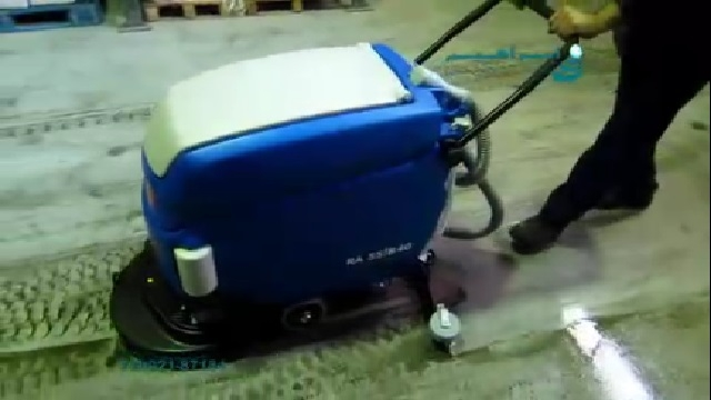 شستشوی موثر و با کیفیت آلودگی ها با اسکرابر  - Effective and quality cleaning with scrubbers