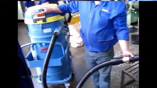 مکنده صنعتی تخصصی مکش روغن  - oil vacuum cleaner