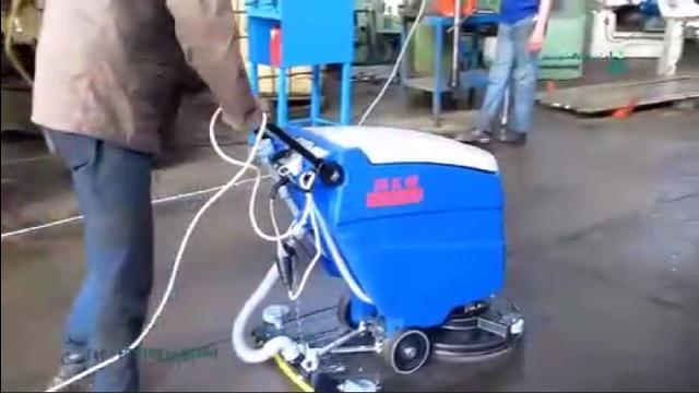 حفظ بهداشت و تمیزی محیط های صنعتی بوسیله اسکرابر  - Maintain the health and cleanliness the industrial area by scrubber