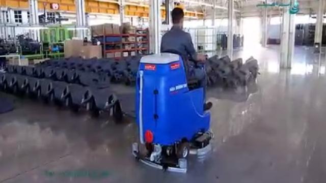 شستشوی اپوکسی کارخانه با اسکرابر  - Epoxy washing plant with scrubbers