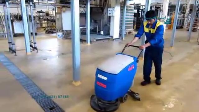 اسکرابر صنعتی مناسب نظافت محیط صنعتی  - Industrial scrubbers suitable for industrial cleaning
