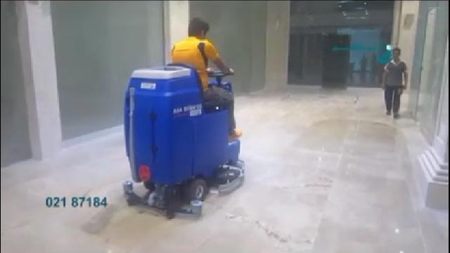 ارتقا کیفیت نظافت با اسکرابر  - Improve cleaning quality with scrubber