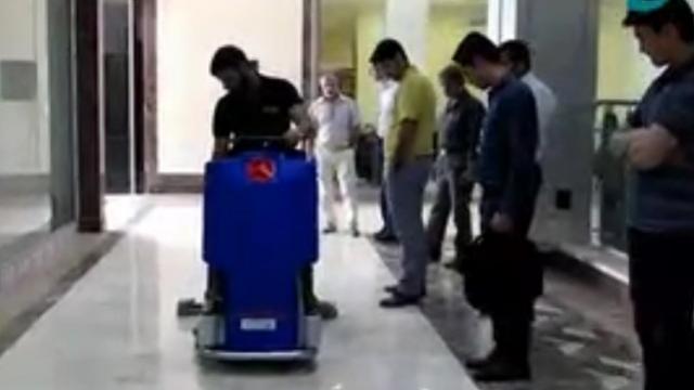 کارآمدی اسکرابر در نظافت سطوح  - Efficiency scrubbers to clean surfaces