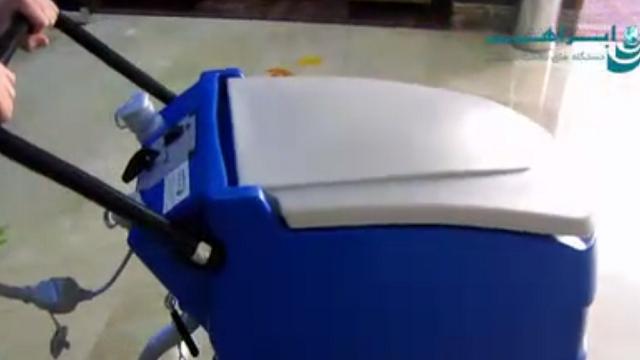 شستشوی بدون آسیب با اسکرابر  - washing by scrubber without damage
