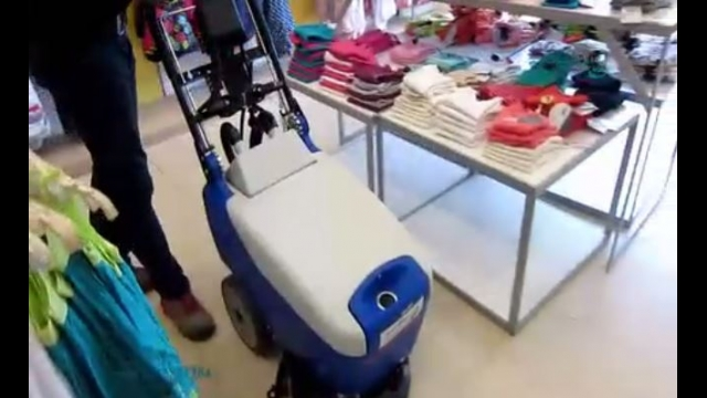 کفشوی فروشگاه لباس  - scrubber dryer for store clothing