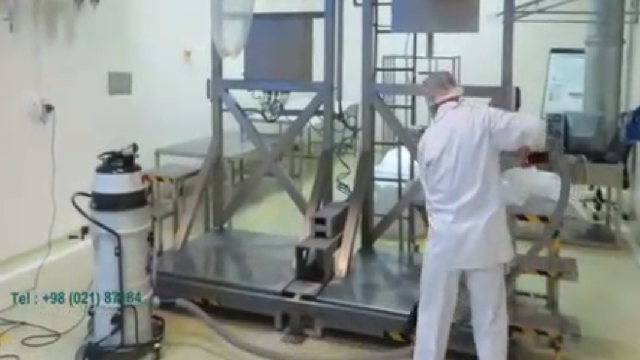 نظافت صنایع داروسازی با جاروبرقی صنعتی  - Cleaning pharmaceutical industries with vacuum cleaner