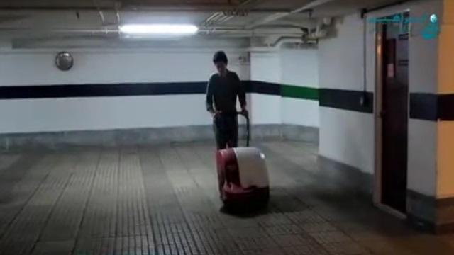 نظافت سریع و آسان با سوییپر  - Quick and easy cleaning with sweeper