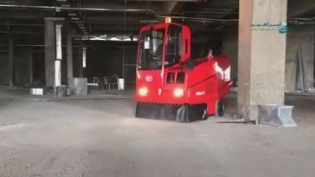سوییپر صنعتی و نظافت محیط های بزرگ  - industrial sweeper clean large area