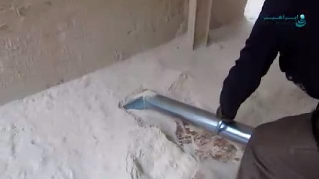 مکنده صنعتی سیمان  - Cement vacuum cleaner