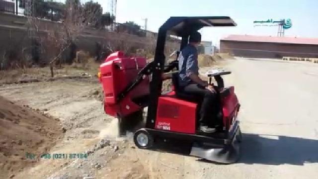 جمع آوری آلاینده های خشک با سوییپر   - Dry Contaminant Collection with Sweeper
