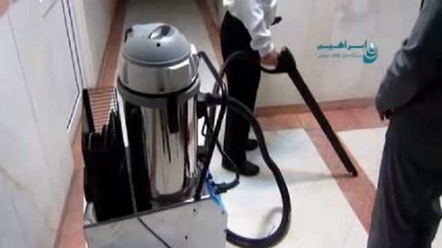 نظافت و ضدعفونی کردن تجهیزات بیمارستان با بخارشوی  - equipment for hospital Cleaning disinfecting steam cleaner