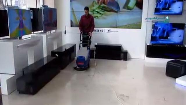 اسکرابر فروشگاه و مراکز خرید  - stores and shopping centers scrubber